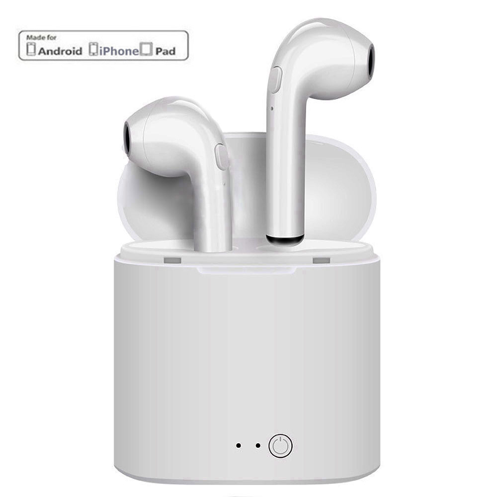 I7S TWS Twins Wireless Stereo Earbuds Bluetooth Earphone V4.2 Edr Headset For Ios Iphone 8 plus  7 plus Android Factory Sale 0