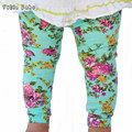 New baby lenggings INS hot selling baby autumn and winter pants children flowers trousers