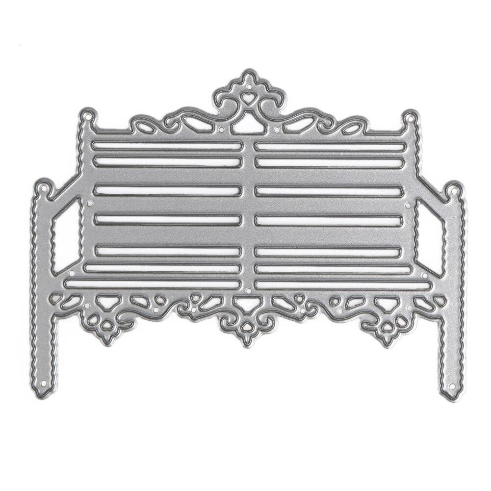 Create Steel Chair Cutting Dies Metal Embossing Template ...