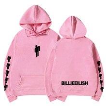 Billie Eilish Fashion Printed Hoodies Women/Men Long Sleeve Hooded Sweatshirts 2019 Hot Sale Casual Trendy Streetwear Hoodies