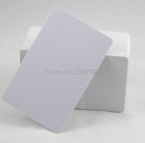 CR80 Size White Blank RFID 125KHZ Contactless PVC Card Waterproof Writable RFID Tags with T5577 Chips jeffrey k aronson meyler s side effects of antimicrobial drugs