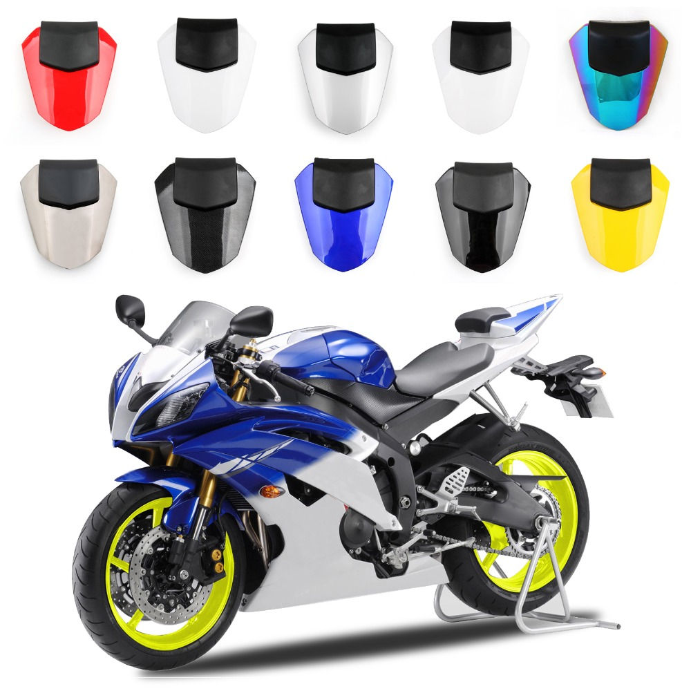 Areyourshop Motorcycle ABS Plastic Solo Rear Seat Cover Cowl For Yamaha YZF R6 08-17 Fairing New Arrival Motorbike Part Styling
