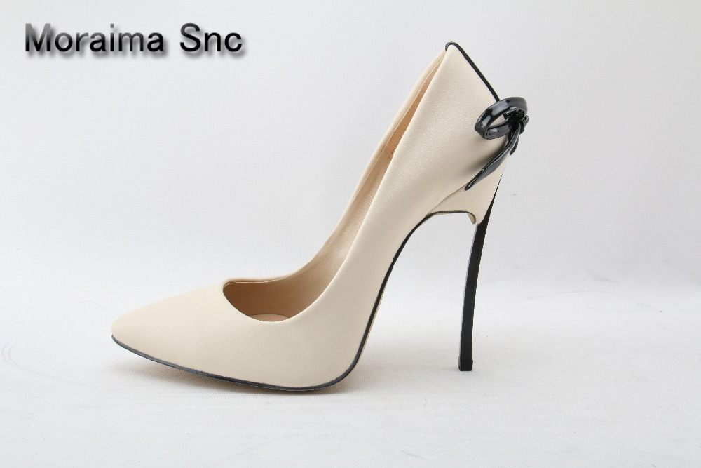 Moraima Snc brand sapato feminino black white sexy pumps metal heels high heels shoes women butterfly -knot pointed toe pumps lab gruppen fp10000q professional pro power amplifier sound system tube amplifier audio with three year warranty