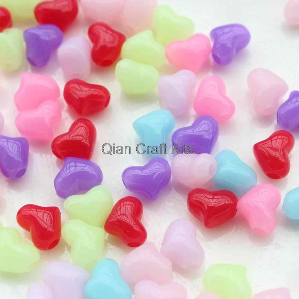 SPARKLY GEM HEARTS buttons Heart Button 12mm wedding craft  ** low stock **