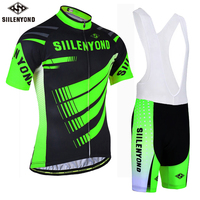 SllLENYOND 2018 Cycling Jersey Sets Summer Men S Short Sleeve Bike Quick Dry Bib Breathable Cycling