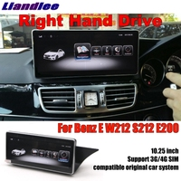 For Mercedes Benz MB E Class W212 S212 2009~2016 Right Hand Drive Liandlee Car Multimedia Player NAVI Stereo GPS Navigation