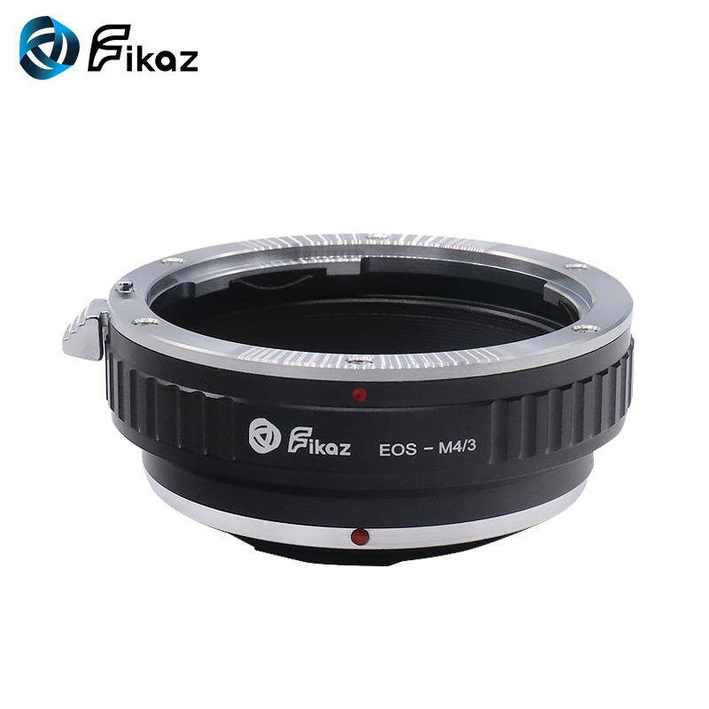 Fikaz For EOS-M4/<font><b>3</b></font> Lens Mount <font><b>Adapter</b></font> Ring for <font><b>Canon</b></font> EOS EF Lens to <font><b>Micro</b></font> <font><b>4</b></font>/<font><b>3</b></font> M4/<font><b>3</b></font> MFT Olympus PEN and Panasonic Lumix image