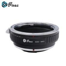 Fikaz pour EOS M4/3 adaptateur de monture dobjectif pour objectif Canon EOS EF à Micro 4/3 M4/3 MFT Olympus PEN et Panasonic Lumix