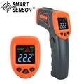 AT380 termómetro infrarrojo Digital LDC IR-32 380 C sin contacto IR acuario pistola láser pirómetro termómetro medidor de temperatura