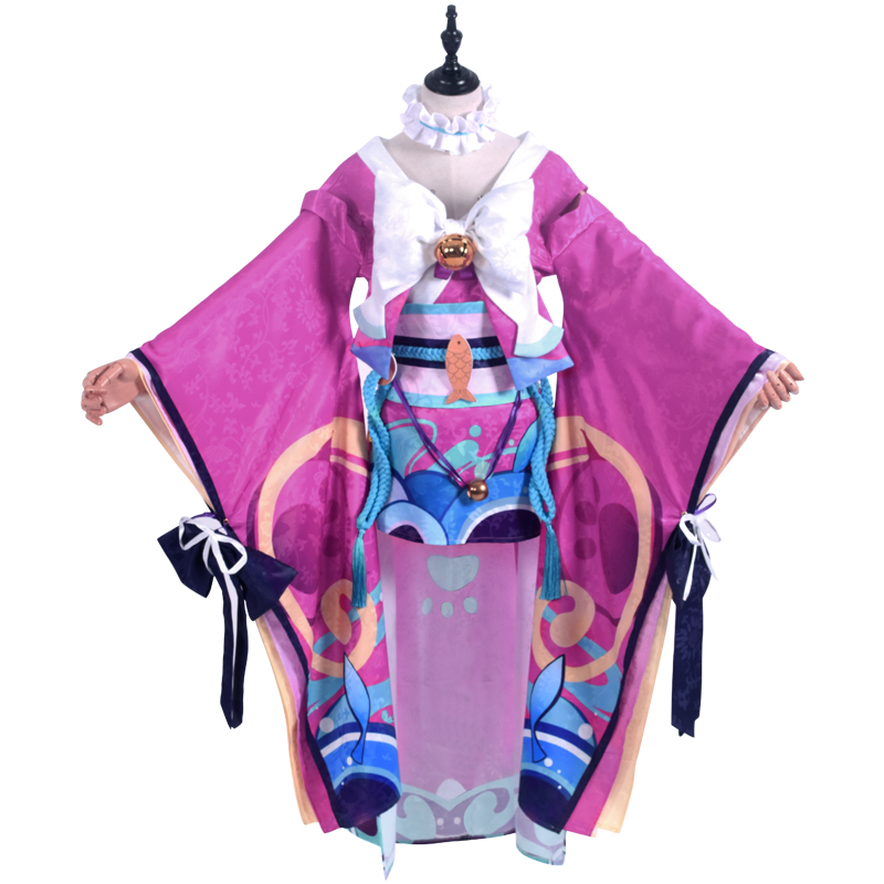 Onmyouji Cosplay Kimono the cat boss Onmyoji kimono cosplay costume 1