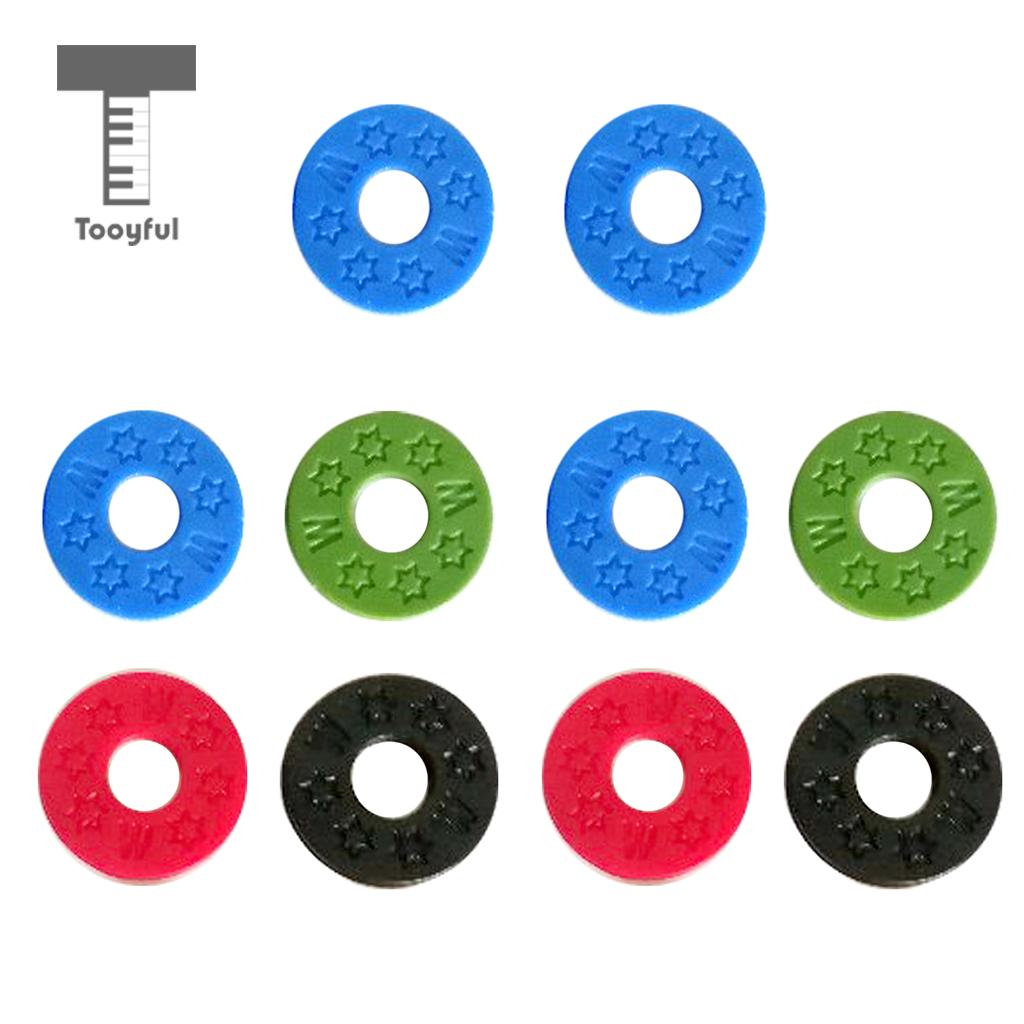 Aliexpress Com Buy Tooyful 10pcss Guitar Strap Block