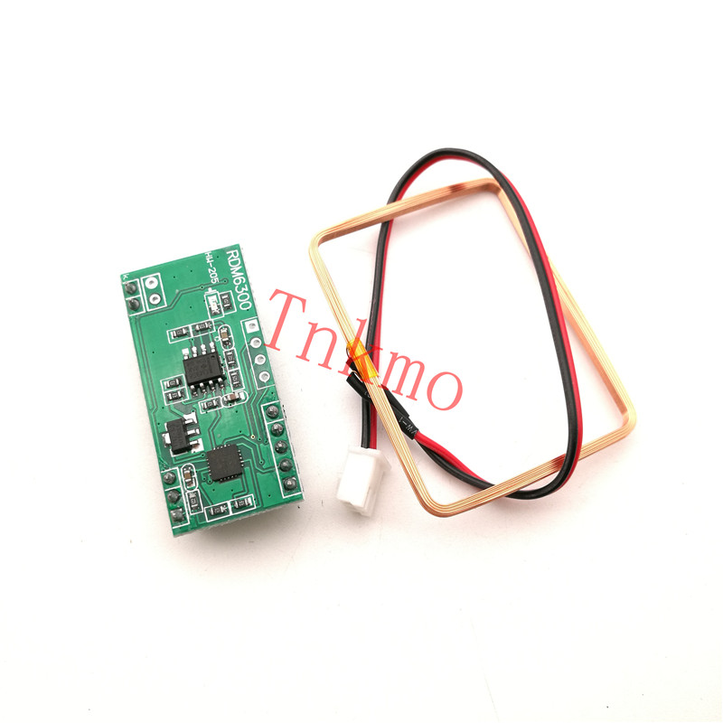 1set 125Khz RFID Reader Module RDM6300 UART Output Access Control System for Arduino Best prices& rfid reader module rdm6300 rf module 125khz reader uart serial output