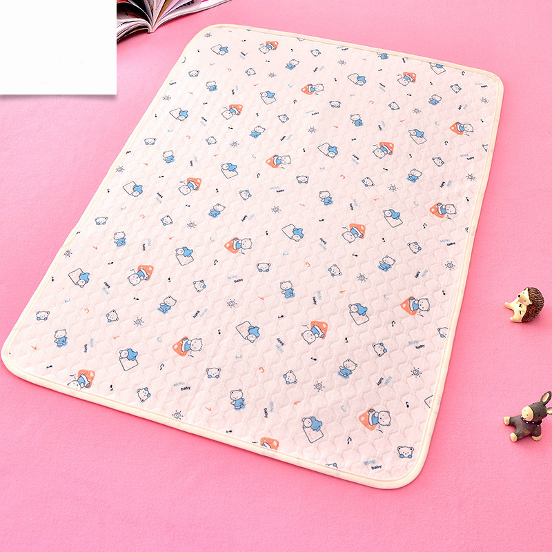 New Baby Portable Kids Changing Mat Cover Mattress Sheet Protector Bedding Burp Breathable Waterproof Pad