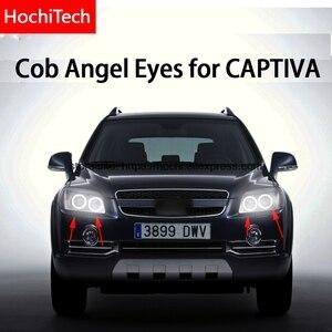 Image 1 - For CHEVROLET CAPTIVA S3X 2006   2011 COB Led day Light White Halo Cob Led Angel Eyes Ring Error Free Ultra bright