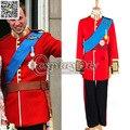 Por encargo traje de la royal prince prince william traje de halloween traje de carnaval d1228