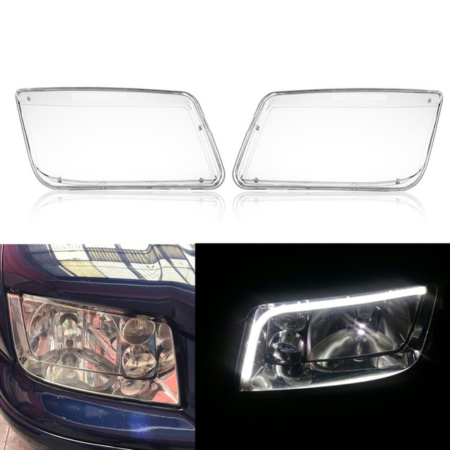 For Vw Mk4 Jetta Bora 1998 2004 Car Headlight Headlamp Bulbs Cover Replacement Transpa Plastic Light Accessories In Shell From Automobiles