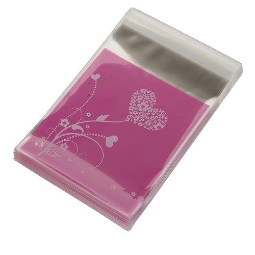 Bolso de embrague UESH-100pcs Bolso HEART púrpura del regalo de - Para fiestas y celebraciones - foto 3