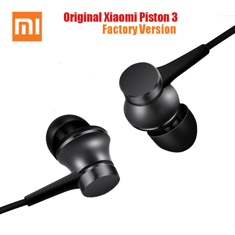 Original Xiaomi Piston 3 Earphone USB Type-C Mi 3.5mm Earphones Headset with Mic for Xiaomi Mi 6/8 9 Huawei Earphones(China)