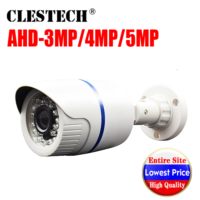 SONY <font><b>IMX326</b></font> CCTV AHD Mini Camera 5Camera 5MP 4MP 3MP 1080P HD AHD-H 5.0MP in/outdoor Waterproof ip66 IR night vision have Bullet image