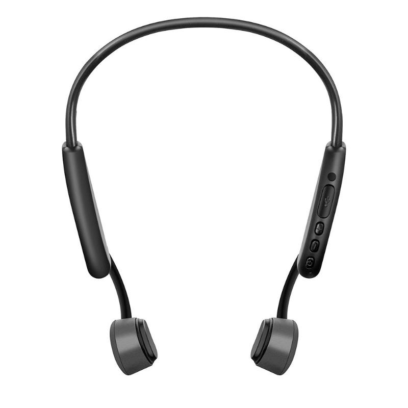 Bluetooth Headset Bone Conduction Wireless Stereo Headphone Bluetooth Hands-free Headset Earphone with Microphone ditmo dm 5300 stereo headset headphone w microphone red black