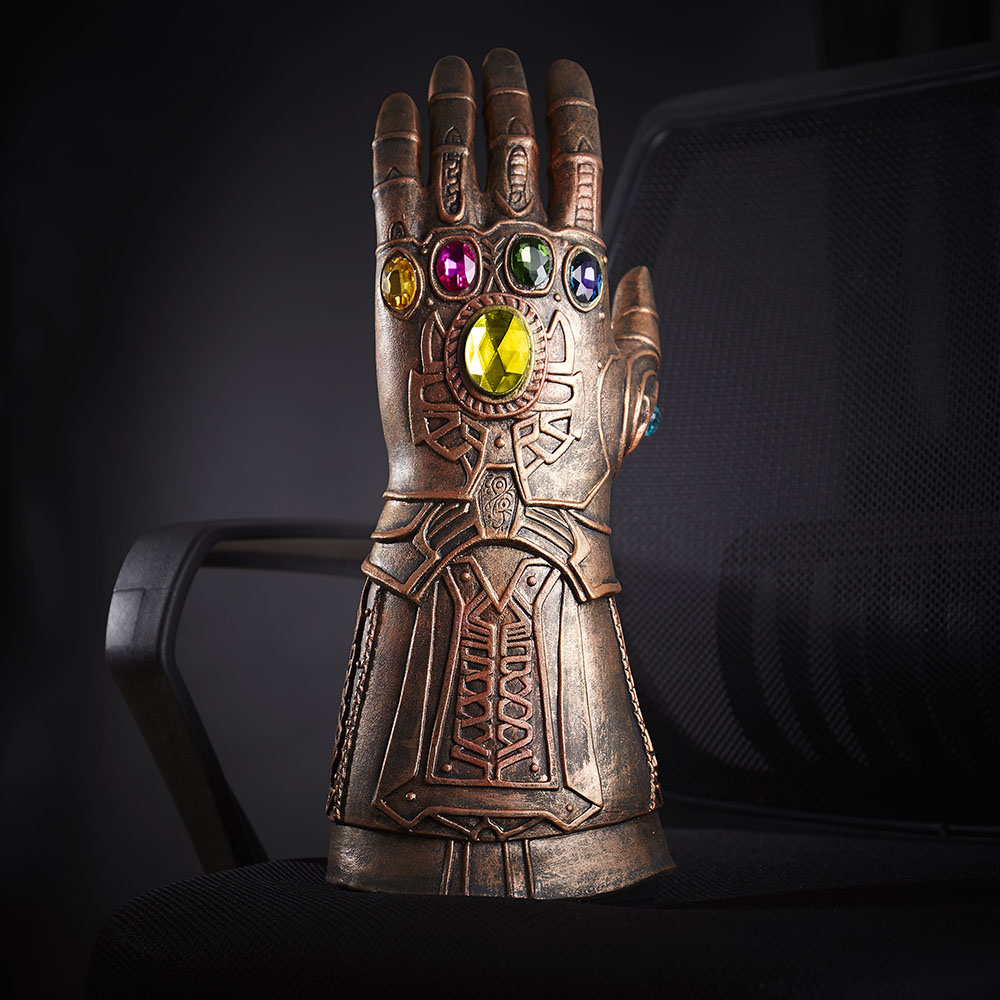 Avengers Infinity War Gauntlet Thanos Cosplay Gloves Hand Claw Costume Props New