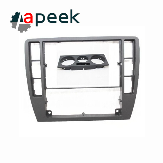 For Volkswagen vw Passat B5 dashboard trim frame CD decorative frame middle central air-conditioning panel black
