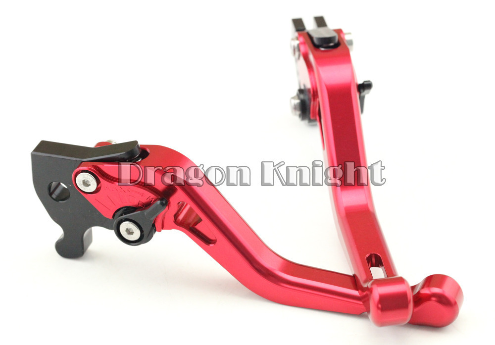 Motorcycle Accessories For YAMAHA R15 2011-2014 indian version Short Brake Clutch Levers Red indian version of k abc