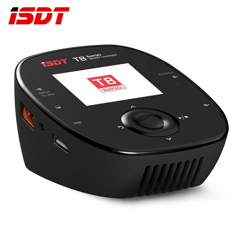 ISDT T8 BattGo 1000 Вт 30A умный аккумулятор баланс балансировочное зарядное устройство для 1-8 S Lipo батарея Зарядка для модели с дистанционным управле...