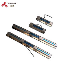 for Nissan Qashqai  j11 2014 2015 2016 2017 2018 2019 Led Door Sill Scuff Plate Pedal Strip Stainless Car Styling Accessories