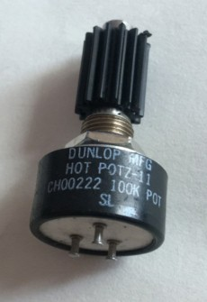 [YK] DUNLOP MFG HOT POTZ-11 100K conductive plastic potentiometer switch