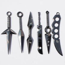 Naruto Kunai Alloy Weapon 6Pcs Set