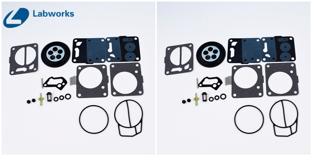 US $22 88 |New Twin Carb Rebuild Kit for Sea Doo Mikuni 650 717 720 787 800  SP GS GTX HX XP SP Free Shipping-in Engine Rebuilding Kits from