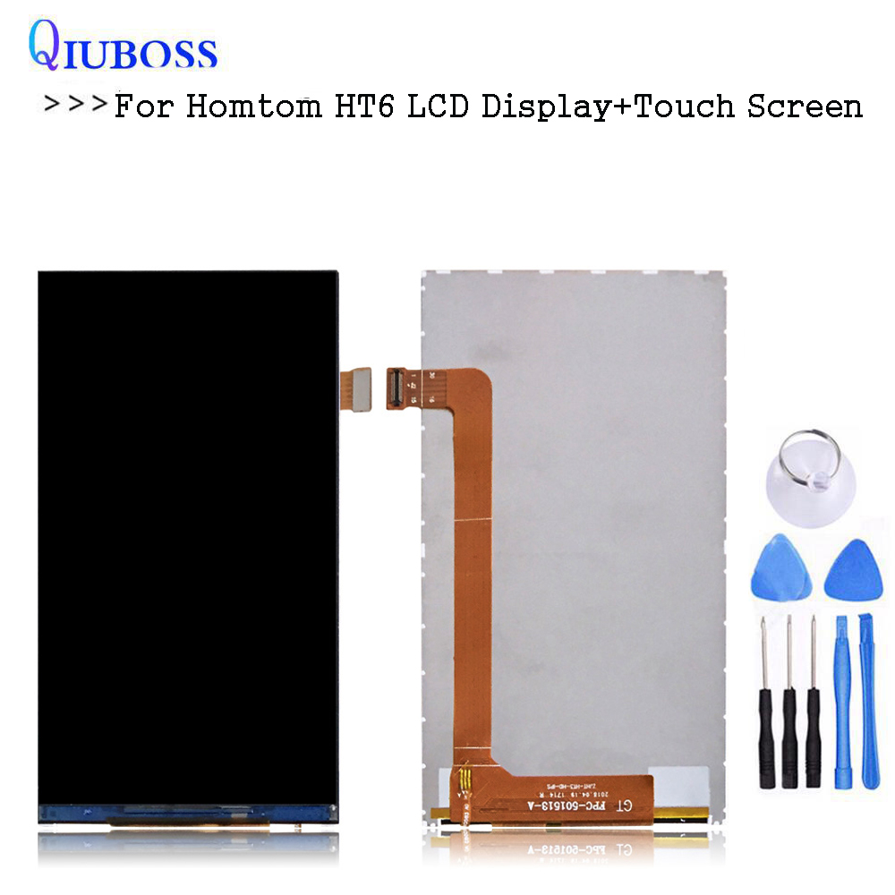 For Homtom HT3 LCD Display Repair Parts Replacementfor ht3 FPC-501513-A LCD Screen Without Touch+ToolsFor Homtom HT3 LCD Display Repair Parts Replacementfor ht3 FPC-501513-A LCD Screen Without Touch+Tools