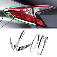 Jameo Auto Car Styling Accessories For Toyota CHR C HR 2016 2017 2018 Rear Lights Tail