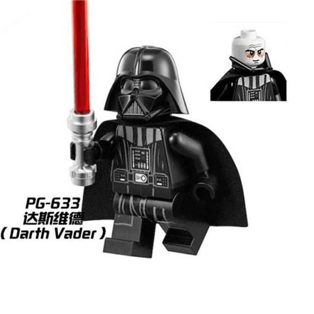 100pcs PG633 Building Blocks Bricks Super Heroes Avengers Star Wars Darth Vader toys for Children-in Blocks from Toys & Hobbies    1