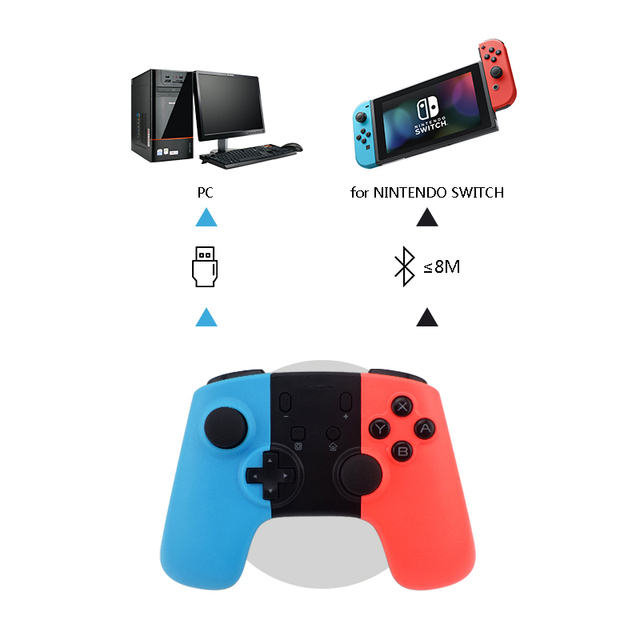 DATA FROG Game Controller For Nintend Switch Controller Wireless Gamepad For PC Switch Controller Bluetooth Joystick