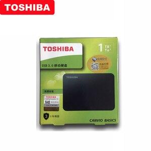 """Image 5 - 東芝 Canvio 基本 HDD 2.5 """"A3 USB 3.0 外部ハードドライブ 2 テラバイト 1 テラバイトポータブルハードディスク externo ディスコ duro externo ハードドライブ"""