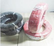 Cable de silicona flexible de alta temperatura, 20M, opción de color, cable de silicona 10awg, multímetro, cable de plomo