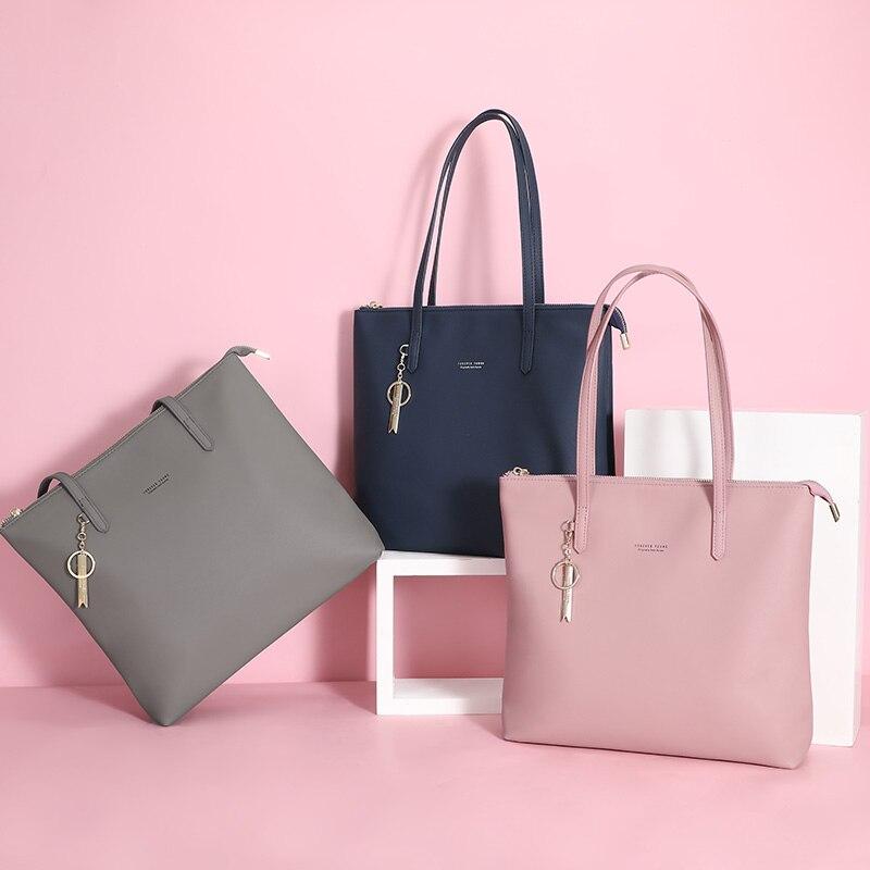 Image 5 - WEICHEN Large Capacity Women Handbag Ladies Top Handle Totes  Shoulder Bag Female Casual Tote Shopping Sac Big Travelling  BagTop-Handle Bags