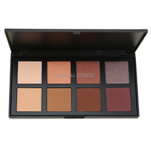 8 Color Eyeshadow Palette Fashion Earth Warm Shimmer Matte Beauty Makeup Set Smoky Eye-shadow Pallete For Eyes Powder B