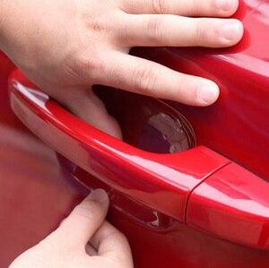 Image 3 - 2018 Special Offer Car door handle stickers film for audi a4 b5 ix35 vw golf 7 jetta jeep wrangler vw t5 volvo xc60 audi q7