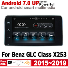 Android 7.0 up Car radio GPS multimedia player For Mercedes Benz GLC Class X253 2015~2019 NTG Navigation 2G+16G HD Screen WiFi octacore android 8 0 4 32gb 10 25 ips screen car dvd player gps navigation for mercedes benz c glc gls w205 glc x253 2014 2017