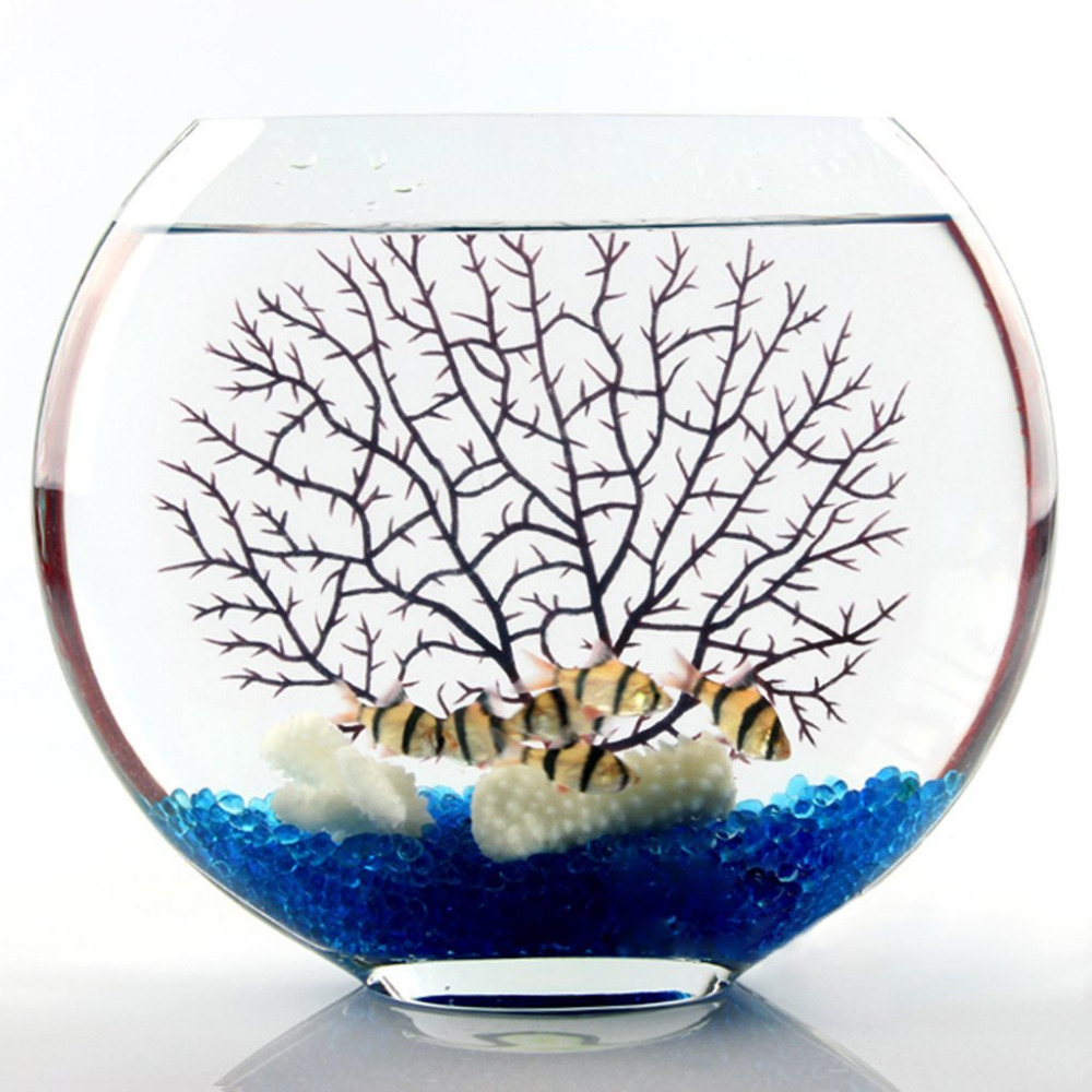 China aquarium fish tank price - Artificial Coral Ornament Underwater Plants Aquarium Fish Tank Decoration Black China Mainland