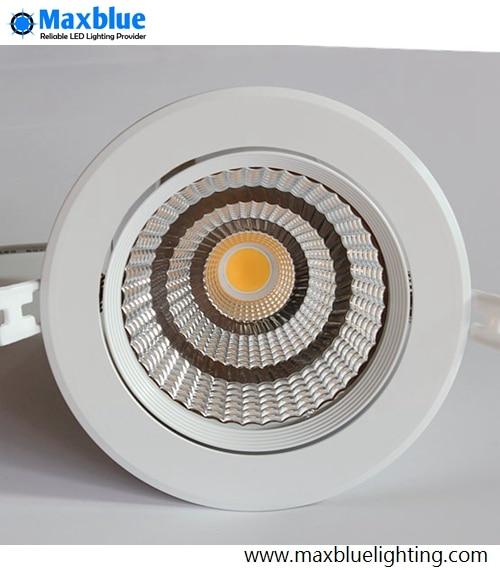 80 ra 220 240vac 35 w levou downlight cri cree cob led embutida luminaria de teto
