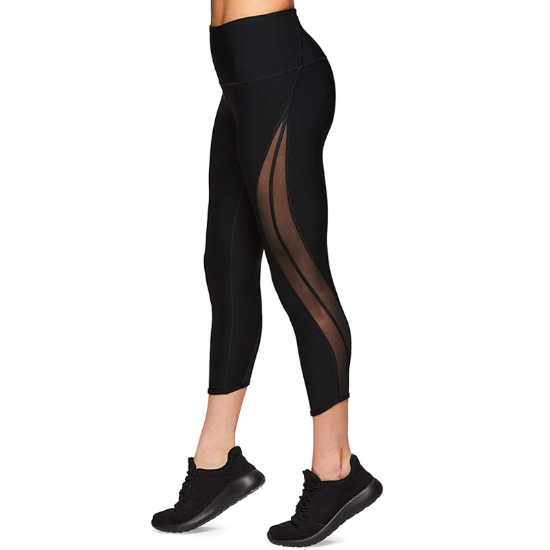 Women Sports Yoga Pants Elastic Wicking Force Exercise Tights Female Sports Fitness Running Gym Yoga wear Trousers Slim Leggings in Yoga Pants from Sports Entertainment