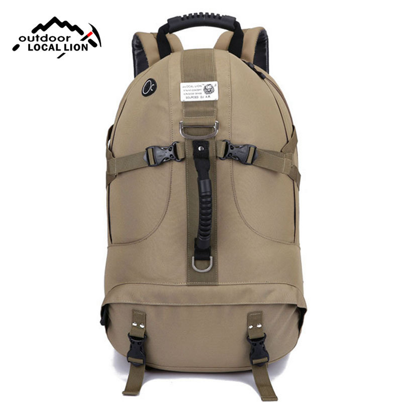 Outdoor Climbing Travel Shoulder Backpack Mountain Hiking Camping Bag Nylon Big Capacity Waterproof Breathable RucksackXA339WD 40l waterproof nylon travel backpack outdoor mountain camping backpack nylon bag fashion climbing hiking cycling backpack bolsa