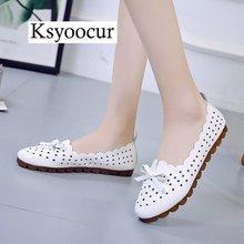 Marca ksyoocur 2020 novas senhoras sapatos planos casuais sapatos femininos confortáveis dedo do pé redondo sapatos lisos primavera/verão sapatos femininos x05