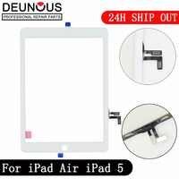 Neue für iPad Air 1 iPad 5 Touchscreen Digitizer kein Home Button Frontscheibe Anzeige Touch Panel Ersatz A1474 A1475 A1476