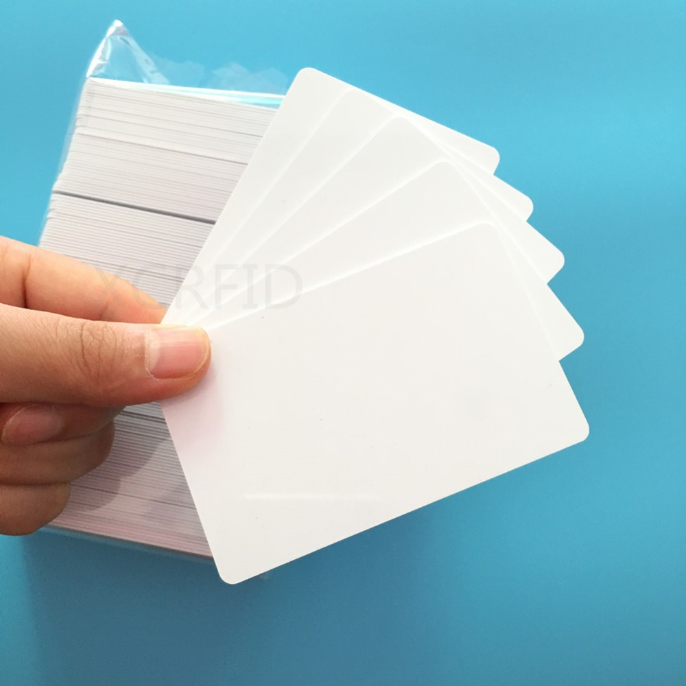 10pcs 125Khz rfid EM4100 TK4100 Waterproof Inkjet Printable Plastic PVC Blank ID Card with double side printing 8000pcs lot 125khz inkjet printable pvc id card em4100 tk4100 for epson printer canon printer