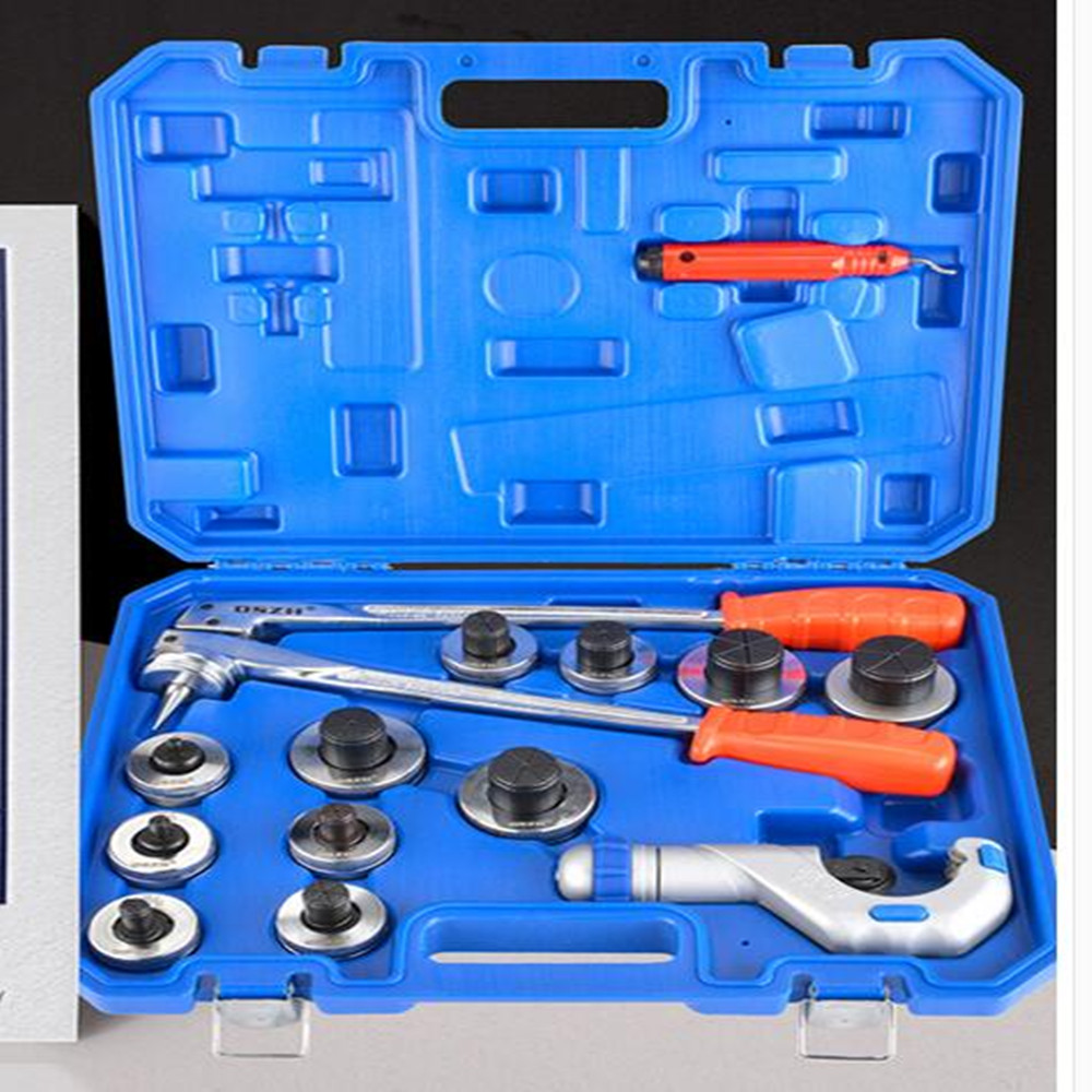 Tube Expanding Tool Set,3/8 to 1-5/8 Copper Tube Pipe Expander Tool Kit CT-100AL 10-42CM sea to summit expander liner standard